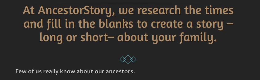 Ancestor Story Mission